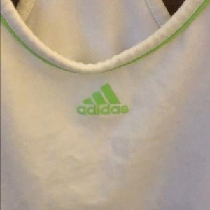 adidas Tops - Adidas white athletic top